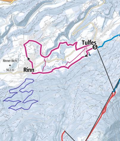 Map / PREMIUM: Sonnenplateau-Runde Tulfes