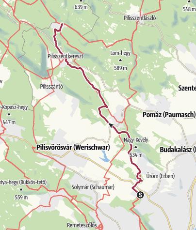 Térkép / Rozália téglagyár - Dobogókő (OKT-15.)