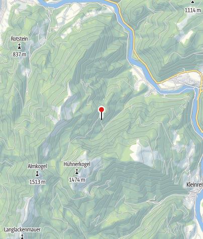 Karte / Jagdhütte 760m