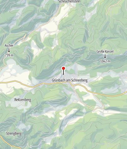 Karte / Bewegungsarena 5 Freunde im Schneebergland - Grünbach