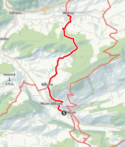 Karte / Carl-Hirnbein-Erlebnisweg - Ein Wanderweg für Klein & Groß