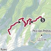 Map / Queimadas to Caldeirao Verde & Caldeirao Inferno