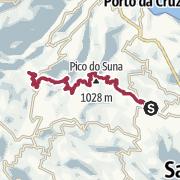 Map / Santo da Serra to Ribeiro Frio
