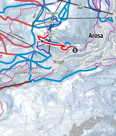 Map / Tschuggen Trail