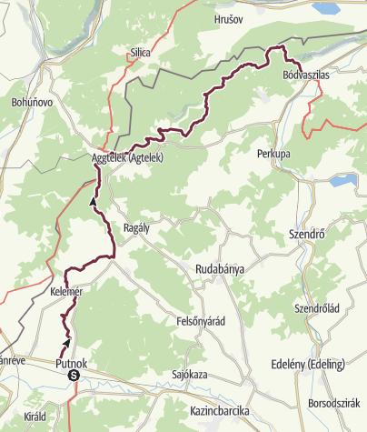 Térkép / Putnok - Bódvaszilas (OKT-24.)