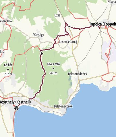 Térkép / Keszthely - Tapolca (OKT - 04.)