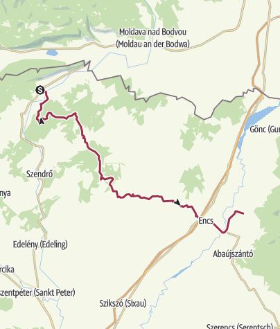 Térkép / Bódvaszilas - Boldogkőváralja (OKT-25.)