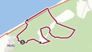 Map / Küstenmoor Rundtour