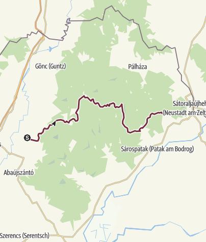 Térkép / Boldogkőváralja - Nagy-nyugodó (OKT-26.)