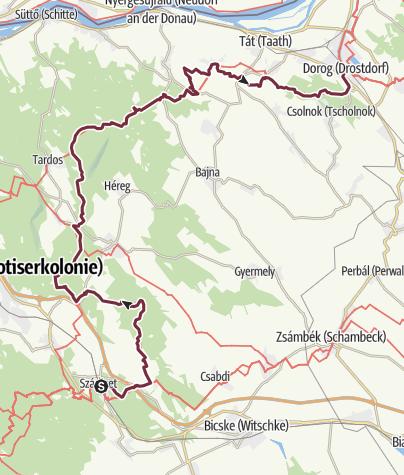Térkép / Szárliget - Dorog (OKT-11.)