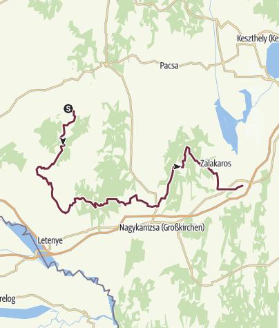 Térkép / Rádiháza - Zalakomár (DDK-04.)