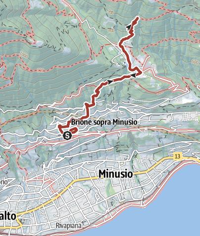 Cartina / Itinerario storico-culturale