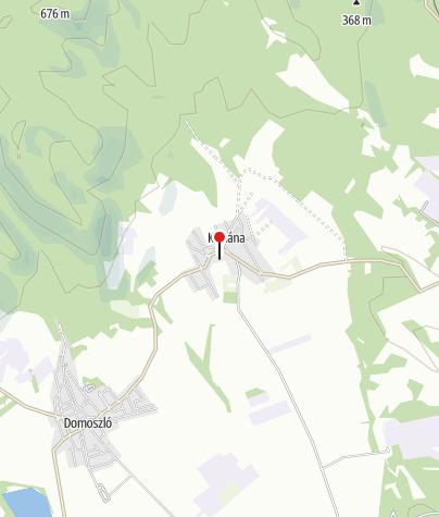 Térkép / Kisnánai vár (Móré László vára)