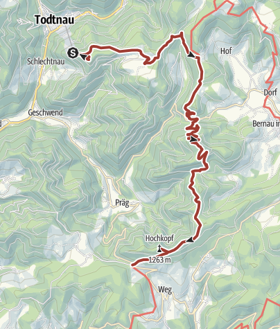Karte / Genießerpfad - Turmsteige