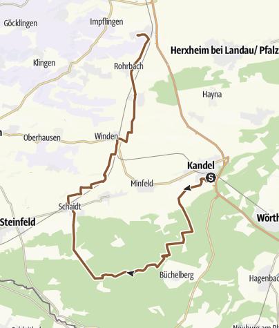 Pf lzerwald Erweiterung des MTB-Trailnetzes