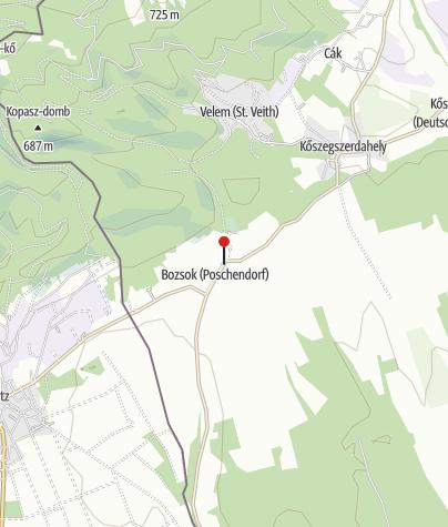 Térkép / Bozsok (DDKPH_02)