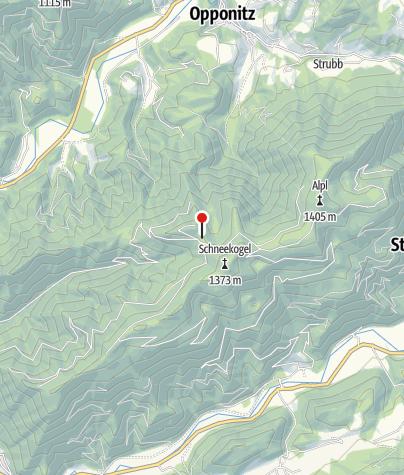 Karte / Anna Jagdhütte 1216m