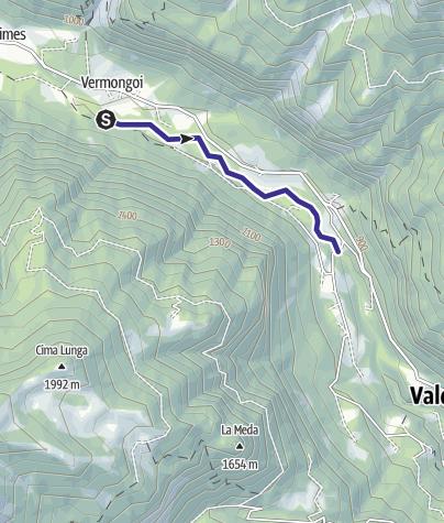 Karte / Zona libera Val di Fumo Alto Chiese