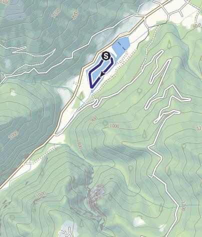 Karte / Lago d'Ampola, Alto Chiese