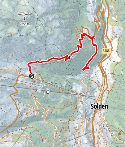 Map / Leiterberg Trail (672)