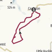 Map / Castleton Circular via Bradwell Moor Trig Point