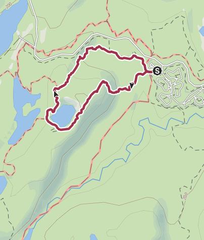 Karte / Rund um den Lac-Solitaire