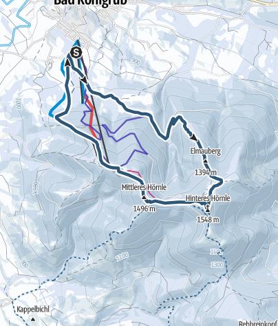 Karte / Bad Kohlgruber Hörnle
