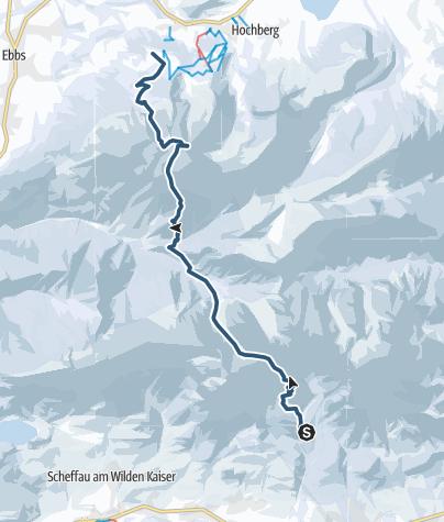 Karte / Kaiserexpress, 2099 m