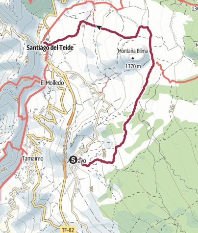Karte / Ruta del Almendro