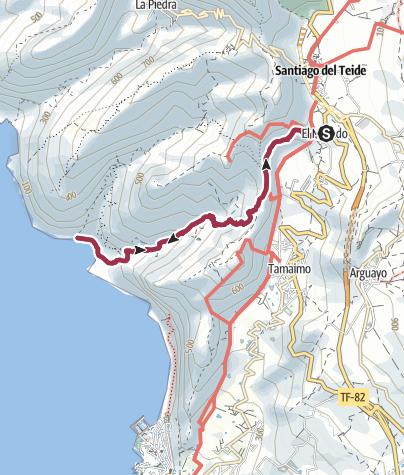 Karte / Barranco Seco