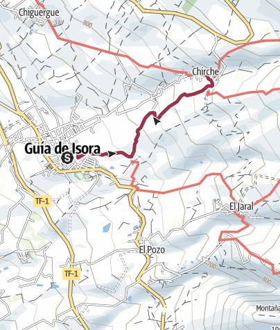 Karte / Guía de Isora – Chirche