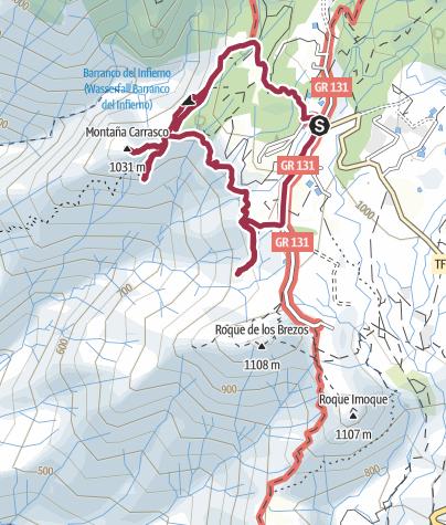 Karte / Kleine Ifonche-Runde