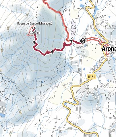 Karte / Conde, 1001 m