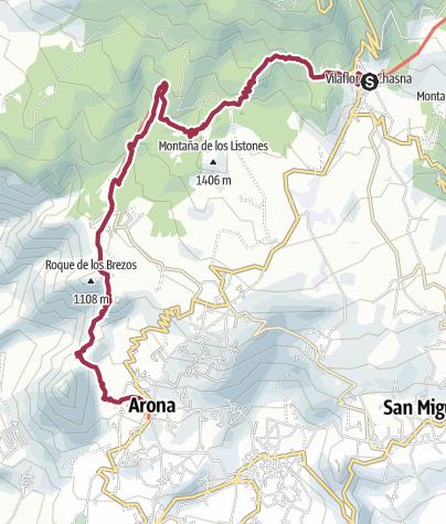 Karte / Vilaflor – Arona