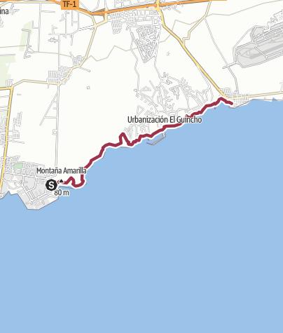 Karte / Costa del Silencio – Los Abrigos