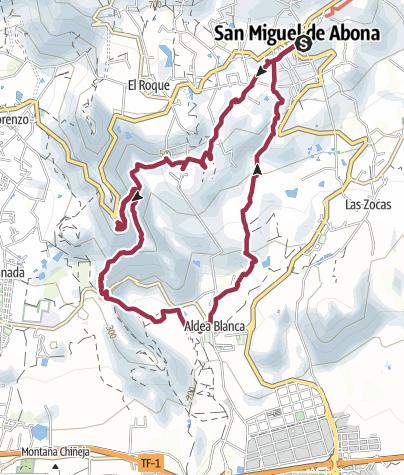 Karte / San Miguel – Aldea Blanca