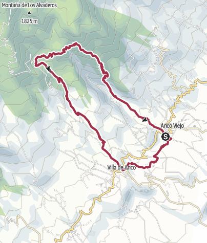 Karte / Arico – El Contador