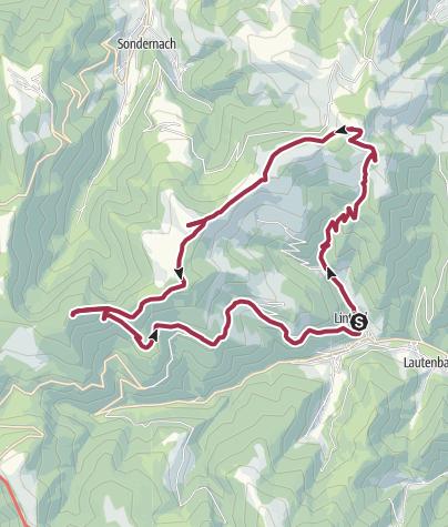 Karte / Linthal – Klinzkopf