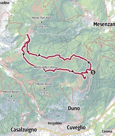 Karte / S. Martino in Culmine – S. Michele
