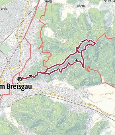 Karte / Freiburg – Sankt Ottilien