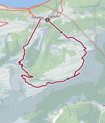 Karte / Oberbauenstock, 2116 m