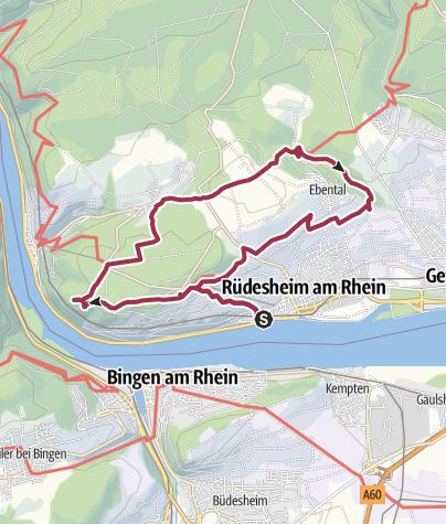 Karte / Rüdesheim und Umgebung