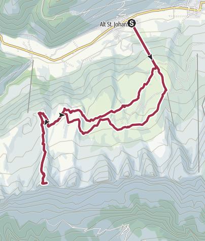 Map / Toggenburger Sagenweg