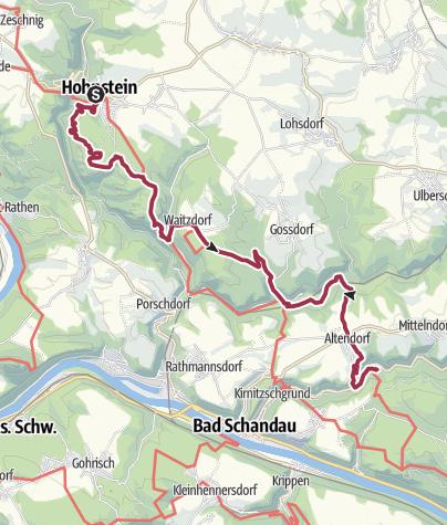Mappa / Malerweg – Etappe 3