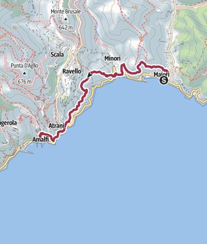 Map / Maiori – Amalfi