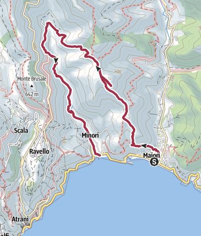 Map / Maiori – San Nicola