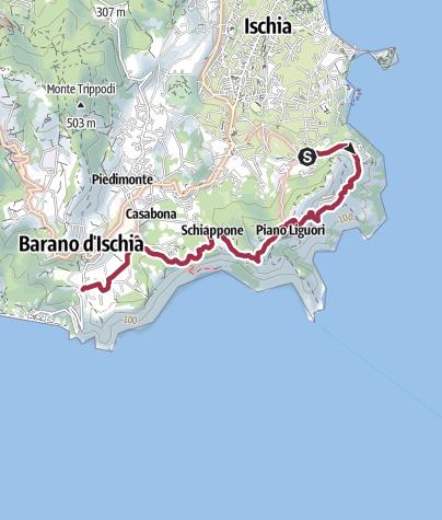 Karte / Campagnano – Barano Testaccio