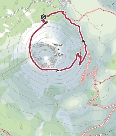 Map / Vesuvio-Rundweg