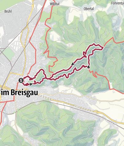 Karte / Freiburg – Rosskopf