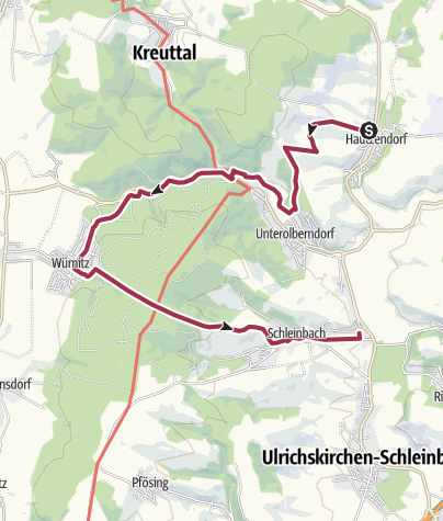 Karte / Glockenberg, 365 m